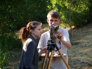 Учебная практика по астрометрии и геодезической астрономии
